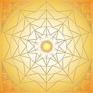 Sun Geometry Mandala by Martin Rosenberger