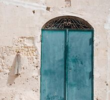 Door in Caveoso Sassi, Matera by jojobob