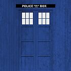 Doctor Who - Tardis (Textured) by raincarnival