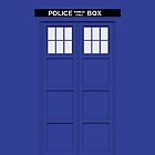 Doctor Who - Tardis by raincarnival