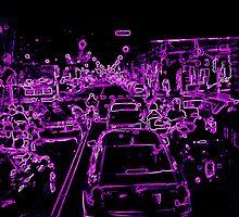 Traffic in Italy by Brigitta Frisch