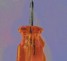 Screwdriver Orange & Blue by CanoeComsArt