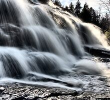Northern Michigan UP Waterfalls Upper Peninsula Autumn Fall Colors by pictureguy