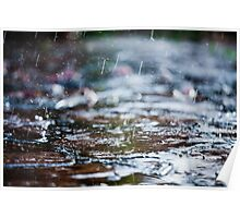 meet the rain Poster