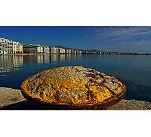 salonika port Photographic Print