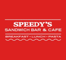 Speedy's Cafe -White by riotousheart