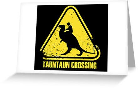 Beware! Tauntaun Crossing! by Mongosling