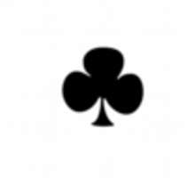 Ace of Clubs Sticker