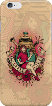 Soufflé Girl - IPHONE CASE by MeganLara
