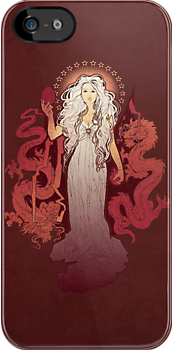 Our Mother of Dragons - IPHONE CASE by MeganLara