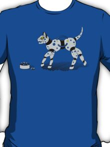 Feed Your Robot Cat (Yellow Eyes) T-Shirt