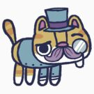 Sir Pussington, the fancy hackycat by hackycat