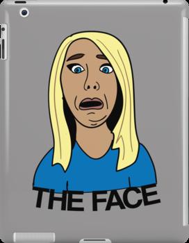 """Jenna Marbles """"The Face"""" by stevebluey"""