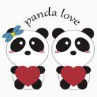 panda love by Iuli