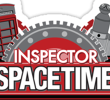 Inspector Space Time Sticker