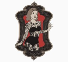 Golden Age of Sideshow - Tattooed Woman T-Shirt