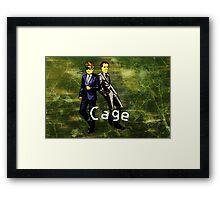 Cage (Print Version) Framed Print