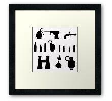 weapon Framed Print