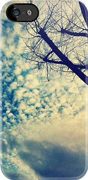 Winter, Tree, Sky by Daphney1019