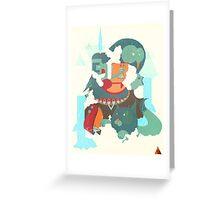 mayan print Greeting Card