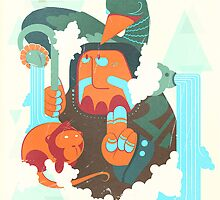 mayan print 2 by SenPowell