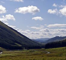 Moffat Dale,  Dumfries and Galloway, Scotland by mikebov