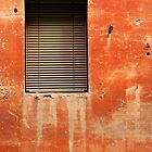 Window in Red Wall by jojobob