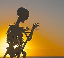 Skeletal Sunset by Richard Murias