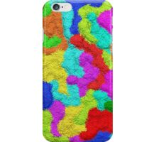 Psychedelic Glitter Pattern  iPhone Case/Skin