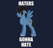 HATERS GONNA HATE A BRONY by RedBobcat