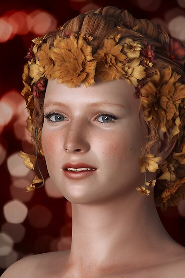 Flowers in Her Hair by Liam Liberty