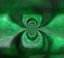Green Copper Vortex by jojobob