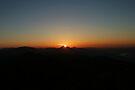 Sunrise view from Mount Nemrut by Jens Helmstedt