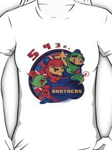 super bomber bros. - mario bomberman mashup T-Shirt