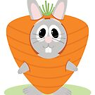Carrot Bunny by EmilyListon4