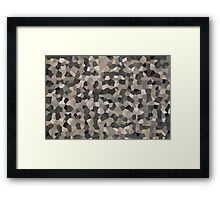 Rubber Crystals 150 Framed Print