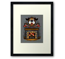 Who's Laughing Now? Framed Print