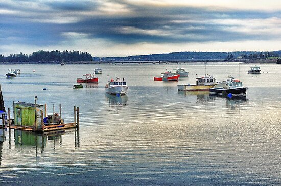 Jonesport, Maine by fauselr