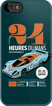 Le Mans Porsche 917 (dark) by robgould1972