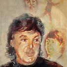 Paul McCartney: Carry That Weight  comic cover by Graham Hill