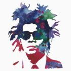 Jean-Michel Basquiat Splatter 2 by Celticana