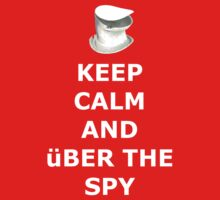 Keep Calm And über the spy by mikeAguy1
