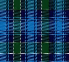 01247 Glacier Freeze Fashion Tartan Fabric Print Iphone Case by Detnecs2013