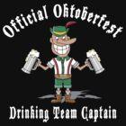 Oktoberfest Drinking Team Captain by HolidayT-Shirts