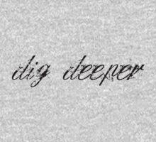 dig deeper Kids Clothes
