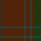 01261 Rusty Flavor Fashion Tartan Fabric Print Iphone Case by Detnecs2013