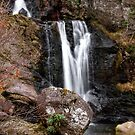 Inversnaid Waterfall by Christine Smith