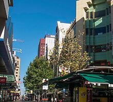 Rundle Mall - Looking West  by DPalmer