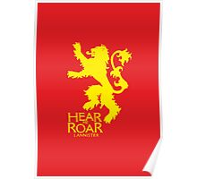 Game of Thrones - Lannister house v2 Poster