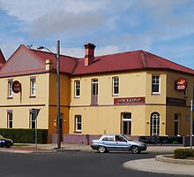Wicklow Hotel, Tenterfield, NSW, Australia by Margaret  Hyde